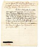 Photo 2 : LETTRE NON SIGNÉE DATÉE DE FONTAINEBLEAU le 16 octobre 1746 donnant les détails de la bataille de Raucoux, Guerre de succession d'Autriche.