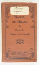 Photo 2 : Manuel du Gradé de D.C.A (défense contre aéronefs)