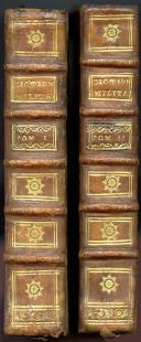 Photo 3 : AUBERT DE LA CHÉNAYE : DICTIONNAIRE MILITAIRE EN 2 VOLUMES, 1745.