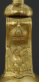 Photo 12 : CASQUE TROUPE DE DRAGONS  DE  LA GARDE IMPERIALE, DIT « DRAGONS DE L'IMPÉRATRICE », MODÈLE 1806 , PREMIER EMPIRE.