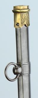 SABRE D'OFFICIER SUPÉRIEUR DES GARDES DU CORPS DU ROI, MODÈLE 1816, RESTAURATION. (14)
