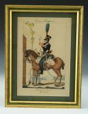 Photo 1 : MARTINET : Troupes françaises, planche 114, 14ème Régiment de Chasseurs à cheval, Premier Empire.