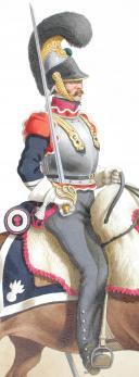 Photo 2 : 1816. Cuirassiers. Brigadier (2e Régiment - du Dauphin).