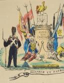 Photo 2 : LETTRE ILLUSTRÉE HONNEUR ET PATRIE DE TAMBOUR D'INFANTERIE 1830.