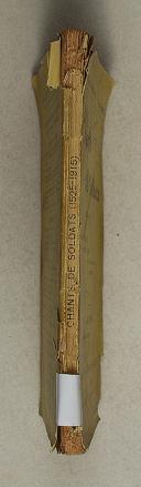 Photo 2 : Chants de soldats 1525-1915