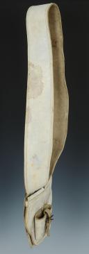 Photo 3 : BAUDRIER PORTE-GLAIVE, PREMIER EMPIRE - PREMIER TIERS DU XIXème SIÈCLE.