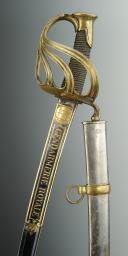 SABRE D'OFFICIER DE LA GENDARMERIE ROYALE, modèle 1816, RESTAURATION. (8)
