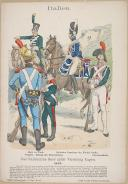 """R. KNÔTEL -  """" Italien - Das Italienische Heer unter ViceKönig Eugen 1812 """" - Gravure - n° 45"""