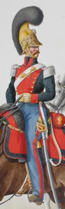 Photo 2 : 1822. Adjudant-Major, Trompette (5e Régiment - de l'Hérault).