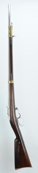 FUSIL-LANCE MODÈLE 1854 DE L'ESCADRON DES « CENT GARDES » (armement inférieur), SECOND EMPIRE.