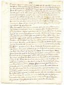 RÉCIT DE LA BATAILLE DE HASTEMBEKQUE le 26 JUILLET 1752, 7 pages non signées.