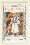 HISTORIQUE du 3e régiment d'infanterie.   (1)
