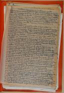 """Photo 4 : ANONYME  - """" Suisses de France Texte, Suisses 1er empire, Suisses 1-3 """" - Sous 3 chemises - Feuilles calques manuscrites et dactylographiées"""