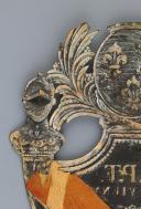 PLAQUE DE SHAKO DE LA GARDE NATIONALE DU DÉPARTEMENT DE LA VIENNE, MODÈLE 1816, RESTAURATION. (4)