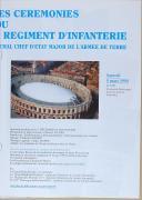 """PIÉMONT 1494 - """" 3ème Régiment d'Infanterie """" - Lot de 2 livrets + un programme - Nîmes - 1994  (6)"""