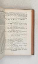 Photo 7 : Almanach royal - 1742