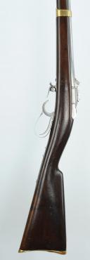 FUSIL-LANCE MODÈLE 1854 DE L'ESCADRON DES « CENT GARDES » (armement inférieur), SECOND EMPIRE. (8)