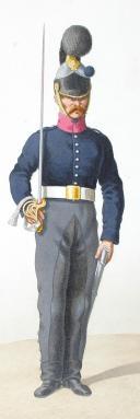 1816. Cuirassiers. Cuirassier (4e Régiment - de Berry), Sous-Lieutenant (1er Régiment - de la Reine). (2)