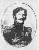 PORTRAIT de Jacques DE TROBRIANT  CHEF D'ESCADRONS DES CHASSEURS À CHEVAL DE LA JEUNE GARDE IMPÉRIALE, PREMIER EMPIRE (1813-1814) (3)