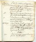 Photo 3 : LIVRET TENU PAR UN SOLDAT SUR LES MOUVEMENTS DE TROUPES OPÉRÉS DANS LA PLACE DU HAVRE de janvier 1807 à novembre 1811.