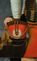 PORTRAIT de Jacques DE TROBRIANT  CHEF D'ESCADRONS DES CHASSEURS À CHEVAL DE LA JEUNE GARDE IMPÉRIALE, PREMIER EMPIRE (1813-1814) (4)