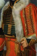 PORTRAIT de Jacques DE TROBRIANT  CHEF D'ESCADRONS DES CHASSEURS À CHEVAL DE LA JEUNE GARDE IMPÉRIALE, PREMIER EMPIRE (1813-1814) (5)