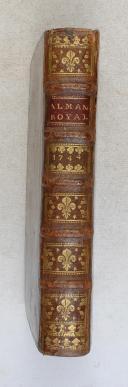 Photo 1 : Almanach royal - 1744