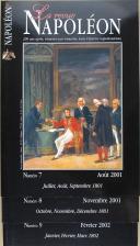 """GUY LECOMTE -  """" La revue de Napoléon """" - Lot de périodiques - Revue  trimestrielle  - 2001"""