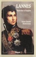 """Photo 1 : DEMAMME (Jean-Claude) – """" Lannes """" Maréchal d'Empire"""