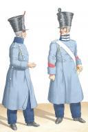 Photo 2 : 1830. Compagnies Sédentaires. Fusilier, Caporal de Sous-Officier