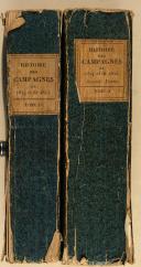 BEAUCHAMP (A. de). Histoire de la campagne de 1814 et de 1815. (2)