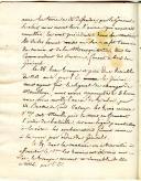 Photo 3 : Marine. PRÉCIEUX LIVRET TENU PAR THÉODORE DAVID, aspirant de marine à Toulon, lors de sa première campagne à bord de la frégate de 74 canons « Le Gênois », 10 février - 10 avril 1808, ET UNE LETTRE DE SON PÈRE daté du 8 février 1808.