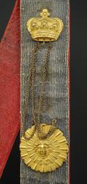 Photo 4 : GIBERNE DE LA COMPAGNIE DU LUXEMBOURG DE SOUS-OFFICIER  DES GARDES DU CORPS DE LA MAISON MILITAIRE DU ROI, MODÈLE 1820, RESTAURATION.