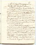 Photo 4 : Marine. PRÉCIEUX LIVRET TENU PAR THÉODORE DAVID, aspirant de marine à Toulon, lors de sa première campagne à bord de la frégate de 74 canons « Le Gênois », 10 février - 10 avril 1808, ET UNE LETTRE DE SON PÈRE daté du 8 février 1808.