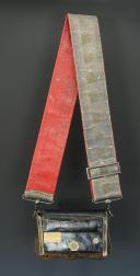 Photo 7 : GIBERNE DE LA COMPAGNIE DU LUXEMBOURG DE SOUS-OFFICIER  DES GARDES DU CORPS DE LA MAISON MILITAIRE DU ROI, MODÈLE 1820, RESTAURATION.