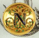 BOUTON D'HABIT DE CÉRÉMONIE, NAPOLÉON III.