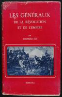SIX LES GÉNÉRAUX DE LA RÉVOLUTION ET DE L'EMPIRE (1)