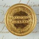BOUTON D'OFFICIER DE VOLONTAIRES NATIONAUX, 1792-1793, RÉVOLUTION. (1)
