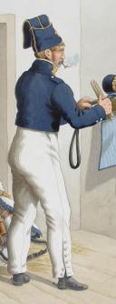Photo 2 : 1820. Cuirassiers. Cuirassier (6e Régiment - de Condé).