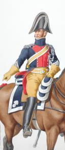 Photo 2 : 1819. Gendarmerie Royale des Départements. Maréchal des Logis.