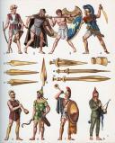 FUNCKEN LILIANE ET FRED : LE COSTUME ET LES ARMES DES SOLDATS DE TOUS LES TEMPS, TOME I, DES PHARAONS À LOUIS XV. (2)