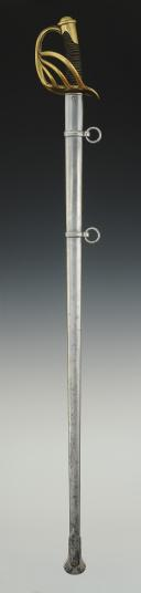Photo 2 : SABRE DE CARABINIERS, modèle 1854, Second Empire.