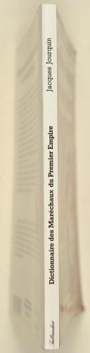 """Photo 2 : JOURQUIN (Jacques) – """" Dictionnaire des maréchaux du premier empire """""""