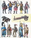FUNCKEN LILIANE ET FRED : LE COSTUME ET LES ARMES DES SOLDATS DE TOUS LES TEMPS, TOME I, DES PHARAONS À LOUIS XV. (3)