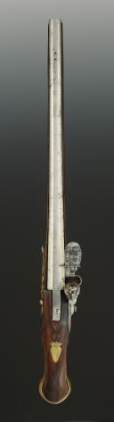 Photo 3 : PISTOLET DE CAVALERIE PRÉ-RÉGLEMENTAIRE SIGNÉ JOURJON, Vers 1710-1730, Ancienne Monarchie.