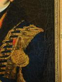 PORTRAIT D'UN LIEUTENANT DU 6e ou 11e RÉGIMENT DE HUSSARDS, PREMIER EMPIRE (1804-1812). (4)