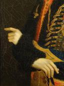 PORTRAIT D'UN LIEUTENANT DU 6e ou 11e RÉGIMENT DE HUSSARDS, PREMIER EMPIRE (1804-1812). (5)