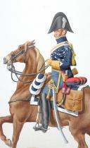 Photo 1 : 1819. Gendarmerie Royale des Départements. Brigadier.