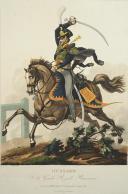 Photo 1 : GENTY, HUSSARD DE LA GARDE ROYALE  PRUSSIEN, PREMIER TIERS DU 19°