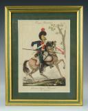 Photo 1 : MARTINET : Troupes françaises, planche 283, 6ème Régiment de Chevau-Légers Lanciers, Premier Empire.